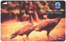 INDONESIA A-364 Magnetic Telekom - Animal, Bird - Used - Indonesien