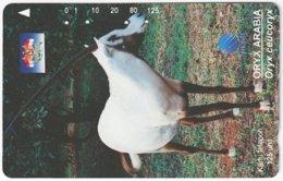 INDONESIA A-395 Magnetic Telekom - Animal, Antelope - Used - Indonesien