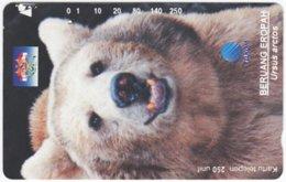 INDONESIA A-398 Magnetic Telekom - Animal, Bear - Used - Indonesien