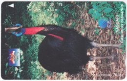 INDONESIA A-399 Magnetic Telekom - Animal, Bird - Used - Indonesien