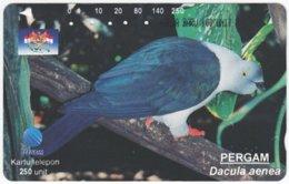 INDONESIA A-400 Magnetic Telekom - Animal, Bird - Used - Indonesia