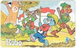 INDONESIA A-409 Magnetic Telekom - Cartoon, Bobo - Used - Indonesien