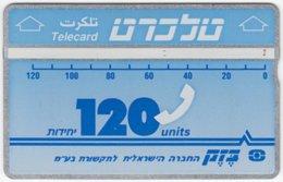 ISRAEL B-628 Hologram Bezeq - 248D - Used - Israel