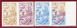 New Caledonia 1980 #C160, Color Proof X4, Piroque, Canoe - New Caledonia
