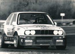 Championnat De France De Supertourisme 1989 - BMW M3 Piloté Par Bernard Salam - Photos Format 18 X 13 Cm Env. - Cars
