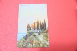 Lago Di Garda Brescia Caino Gaino Firmata Da Illustratore Ed. Gimborn NV - Brescia