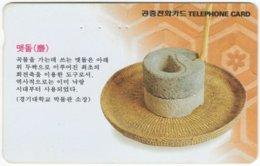 SOUTH KOREA A-614 Magnetic Telecom - Culture, Traditional Craft - Used - Corea Del Sud