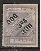 """1898 Brasil S.s.""""200 1898 200""""  Sin Dentar 1v.nuevo - Ongebruikt"""