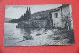 Lago Di Garda Brescia Presso Salò Molino Della Favina Ed. Brunner Con Lavandaia - Brescia