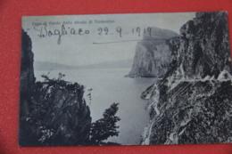 Lago Di Garda Brescia Veduta Dalla Strada Di Tremosine Ma Spedita Da Bogliaco 1919 - Brescia