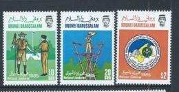 Brunei 1985 Boy Scout Jamboree Set 3 MNH - Brunei (1984-...)