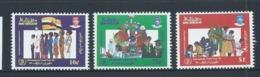 Brunei 1985 International Youth Year Set 3 MNH - Brunei (1984-...)