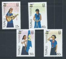 Tuvalu 1986 Girl Guide Set Of 4 MNH - Tuvalu