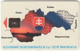 SLOVAKIA C-209 Chip Telekom - Map, Slovakia - Used - Kroatien