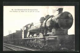 CPA Französische Chemin De Fer No. 231.020 Auf Der Strecke, Etat - Trains