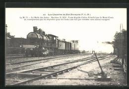 CPA Französische Chemin De Fer No. 2654 Zwischen Calais Et Brindisi, P.L.M. - Trenes