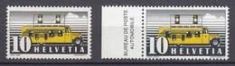 Schweiz  Mi. 311 Postfrisch Automobill Postbüros  1937  (11270 - Suiza