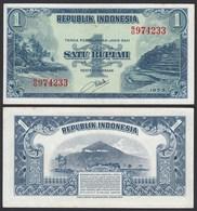 Indonesien - Indonesia 1 Rupiah Banknote1953 Pick 40 XF/AU (1-/2)  (21440 - Altri – Asia