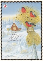 Postal Stationery - Birds - Bullfinches In Winter Landscape - Red Cross 2019 - Suomi Finland - Postage Paid - Finland