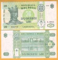 """2006 Moldova ; Moldavie ; Moldau  """"20 LEI  2006""""  UNC 953775 - Moldavië"""