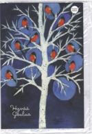 Postal Stationery - Birds - Bullfinches - Winter Landscape - Cancer Foundation 2019 - Suomi Finland - Postage Paid - Finland