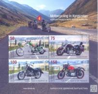 2019. Kyrgyzstan, Motorcycling In Kyrgyzstan, S/s, Mint/** - Kirgisistan