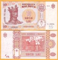 2017. 2015 Moldova ; Moldavie ; Moldau    10 LEI   422689 UNC - Moldavië