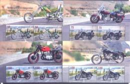 2019. Kyrgyzstan, Motorcycling In Kyrgyzstan, 2 Sets Se-tenant, Mint/** - Kirgisistan