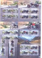 2019. Kyrgyzstan, Motorcycling In Kyrgyzstan, 4v + S/s + 4 Sheetlets, Mint/** - Kirgisistan