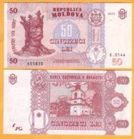 2017 2015 Moldova ; Moldavie ; Moldau    50 LEI   655830 UNC - Moldavië