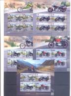 2019. Kyrgyzstan, Motorcycling In Kyrgyzstan, 4 Sheetlets + S/s, Mint/** - Kirgisistan