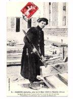 REPRODUCTION - CARON Juliette, Née Le 6 Mai 1882 à Senlis - La Seule Femme En France Exerçant Le Métier De Charpen(Z166) - Artisanat