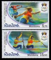 2016Moldova 969-9702016 Olympic Games In Rio De Janeiro 11,00 € - Sommer 2016: Rio De Janeiro
