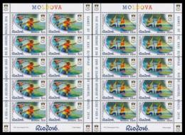 2016Moldova 969KL-70KL2016 Olympic Games In Rio De Janeiro 110,00 € - Sommer 2016: Rio De Janeiro