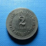 Token To Identify K. U. Koffiziersstation Für Kriegsgefangene Mühling 1915 - Jetons En Medailles