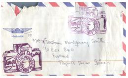 (ED 41) FDC Cover - Tonga  - Posted To Papua New Guinea (no Stamps ?) - Tonga (1970-...)