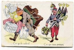 CPA  Militaria Humour : GUILLAUME  1915   VOIR DESCRIPTIF  §§§§§ - Guerra 1914-18