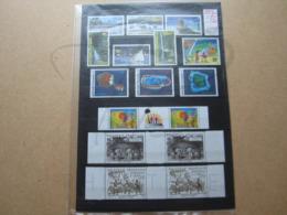 VEND BEAUX TIMBRES DE POLYNESIE , ANNEE 1992 + BLOC , XX !!! - Komplette Jahrgänge