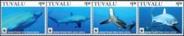 Tuvalu 2016  Wwf Sharks 4v MNH - W.W.F.
