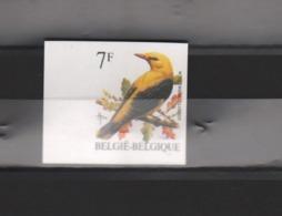 BUZIN / TIMBRE NON DENTELE - NUMEROTE AU VERSO / COB 2475 - 1985-.. Oiseaux (Buzin)
