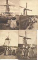 Mooi Mot Met 20 Windmolens (moulins à Vent, Windmill) Allen Uit NEDERLAND - Moulins à Vent