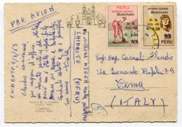 Peru - Postcard - Carte Postale - Perú
