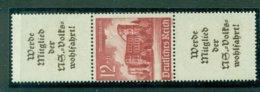 Deutsches Reich, Winterhiflswerk Gebäude, Zusammendruck S 265** Postfrisch - Se-Tenant