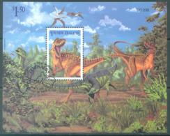 NEW ZEALAND - USED/OBLIT. - 1993 - PREHISTORIC ANIMALS DINOSAURS - Yv Bloc 90 - Lot 17158 - Blocs-feuillets