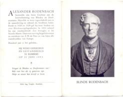 Oprichting Standbeeld Voor Burgemeester Blinde Alexander Rodenbach Te Rumbeke 1953 - Unclassified