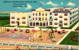 Virginia Virginia Beach Martha Washington Hotel And Apartments 1946 - Virginia Beach