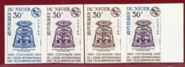 Niger 1965 #157, Color Proof X4, Wheatstone Telegraph - Niger (1960-...)