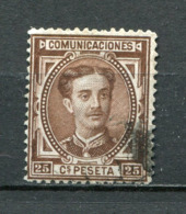 Spanien Nr.159        O  Used       (1080) - 1875-1882 Königreich: Alphonse XII.
