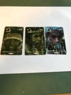 Solomon Islands - Set With 3 Phonecards - Solomoneilanden