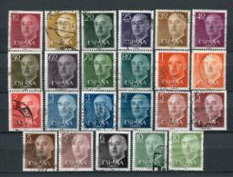 Spanien Nr.1040/55        O  Used       (1089) - 1931-Aujourd'hui: II. République - ....Juan Carlos I